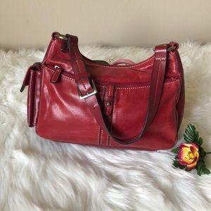 Aurielle Vintage Leather Shoulder Bag